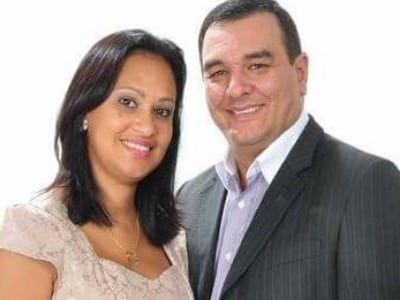Vanderlei e Gisele Felipe